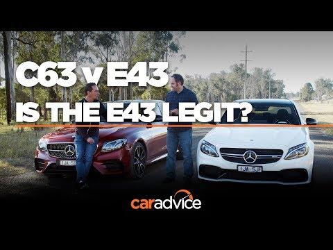 Mercedes-AMG C63 S v E43 comparison