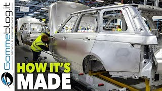 2018 RANGE ROVER Production - CAR FACTORY - How It's Made ASSEMBLY Manufacturing