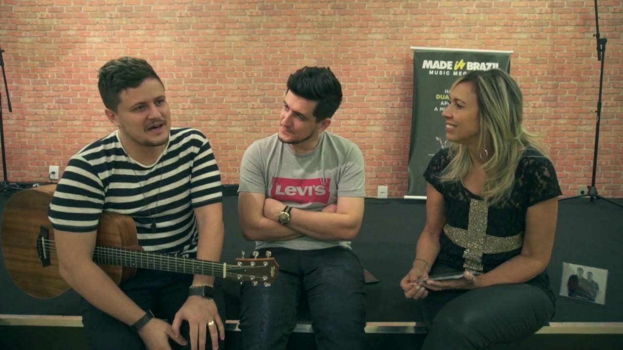 Show Gospel - Entrevista - Andre e Felipe