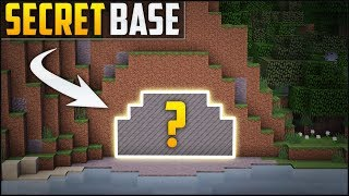 Minecraft: How To Build A Secret Base Tutorial (#6)