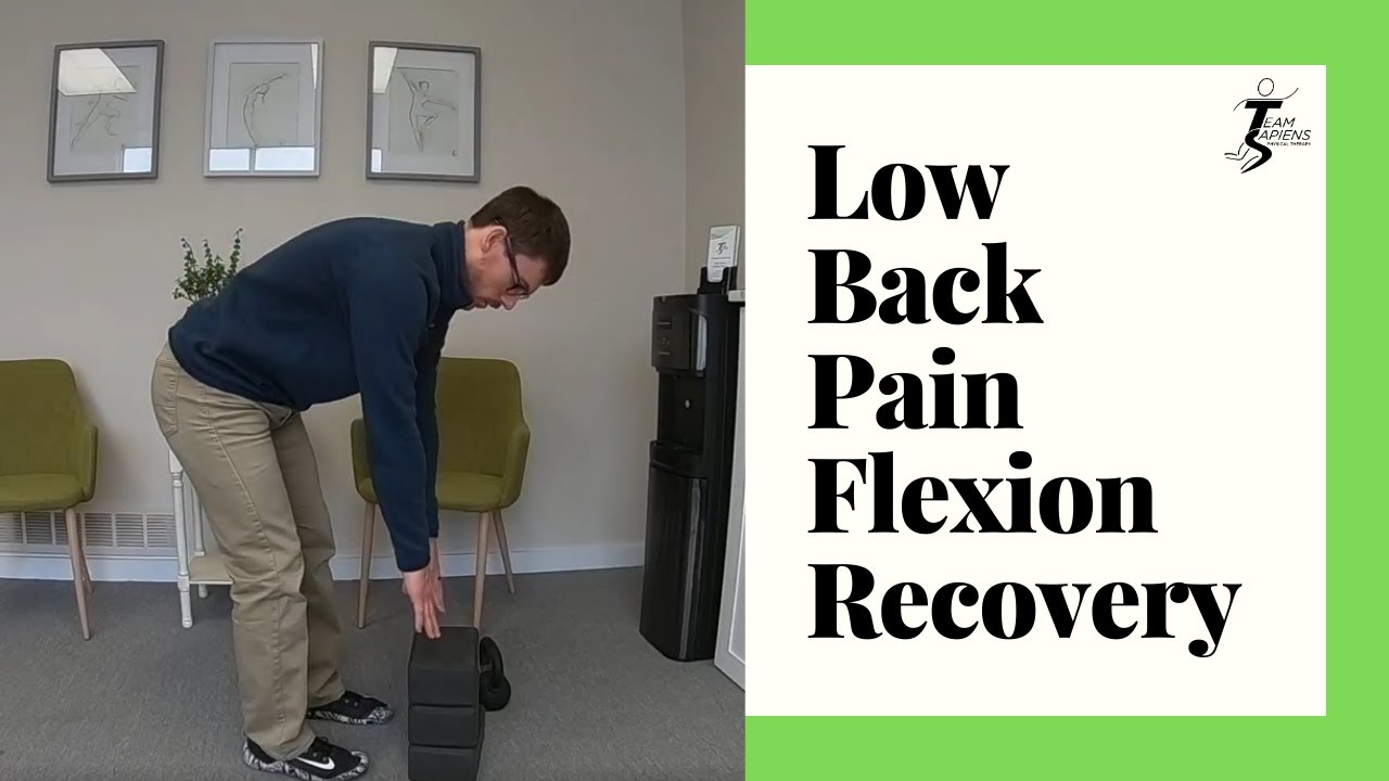 Low back pain flexion recovery