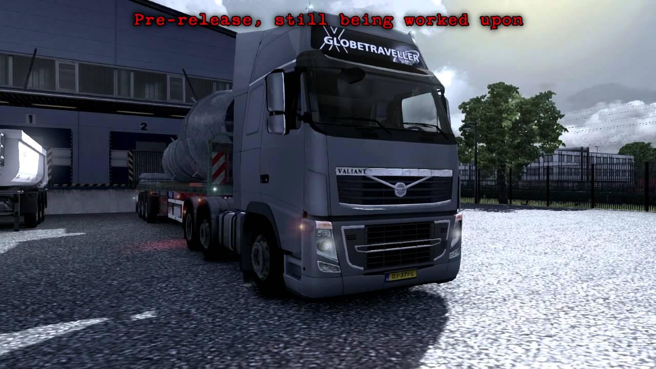Valiant (Volvo) external teaser - Euro Truck Simulator 2 ...