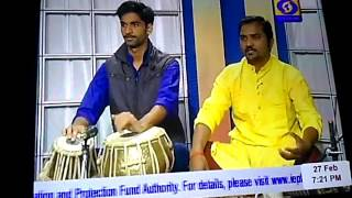 Vikas singh ragi live at DD UP