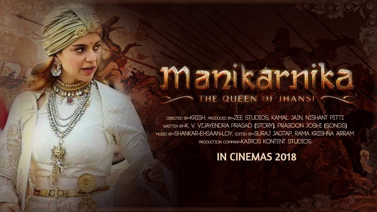 Manikarnika The Queen Of Jhansi Trailer Kangana Ranaut Youtube