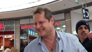 Senf Anschlag auf Jens Büchner (Mallorca Jenser)