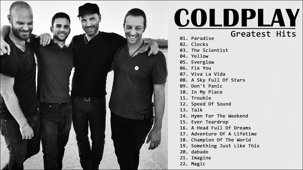 Top 20 Coldplay Greatest Hits Playlist 💛💛Best Songs Of Coldplay