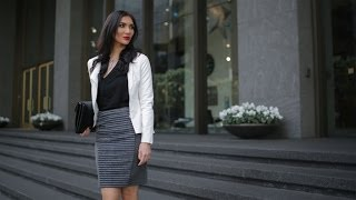 Styling our Favorite Pencil Skirt