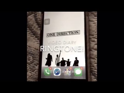 One Direction Ringtones (individual voices)
