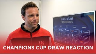 Bryn Cunningham reacts to Champions Cup draw!