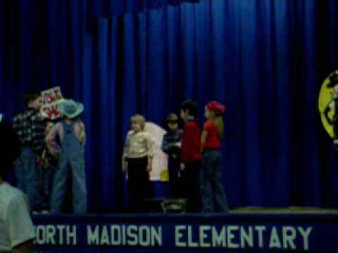 Billy And The North Madison Elementary School Ohio Square Dance