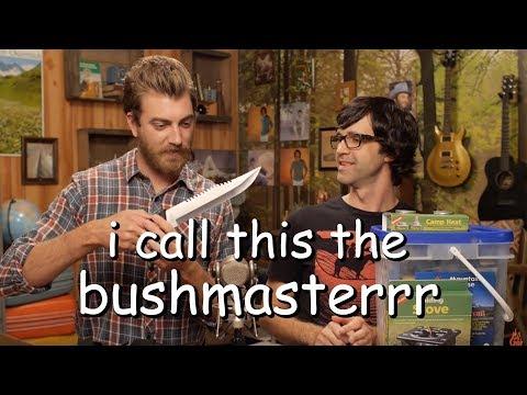 rhett prepping for the apocalypse for 9 minutes straight