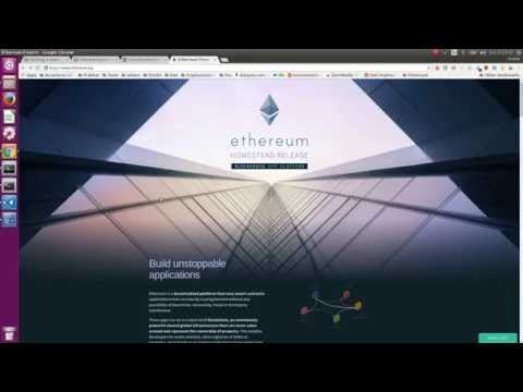 How to create a private ethereum network