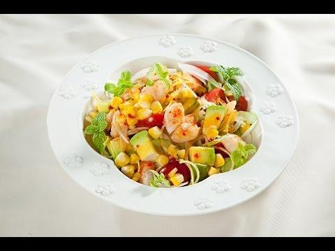 Món Ngon Mỗi Ngày - Salad bắp nướng