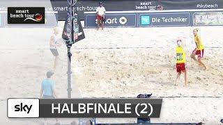 2.Männer-Halbfinale | Komplett | Timmendorfer Strand–Deutsche smart Beach-Volleyball Meisterschaften
