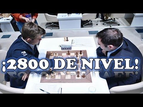 AJEDREZ NIVEL 2800 DE ELO: Carlsen vs Mamedyarov (Accentus Biel, 2018)
