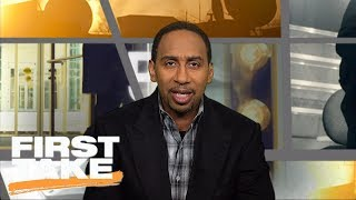 Stephen A. Smith says Eagles have 'shocked' him   First Take   ESPN