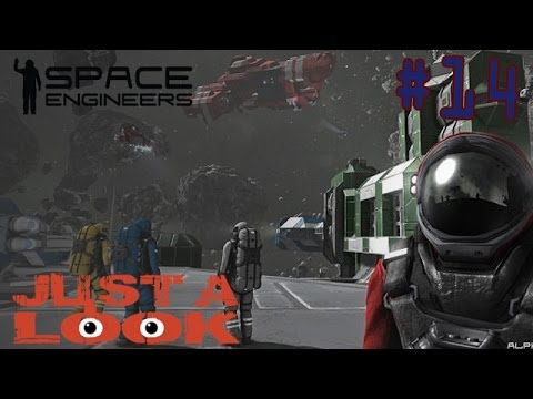 [Just a Look #14] - Space Engineers - Il crafting a gravità zero