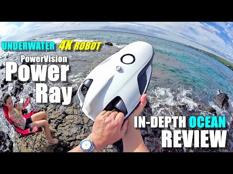Underwater Drone PowerVision PowerRay 4K ROV Review - Part 3 - [In-Depth OCEAN TEST, Pros & Cons]
