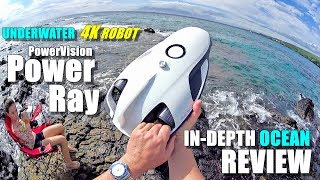 Underwater Drone PowerVision PowerRay 4K ROV Review - [In-Depth ROUGH OCEAN TEST, Pros & Cons]