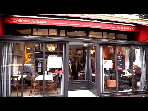 Le Bistrot du Maquis, restaurant à Paris 18ème