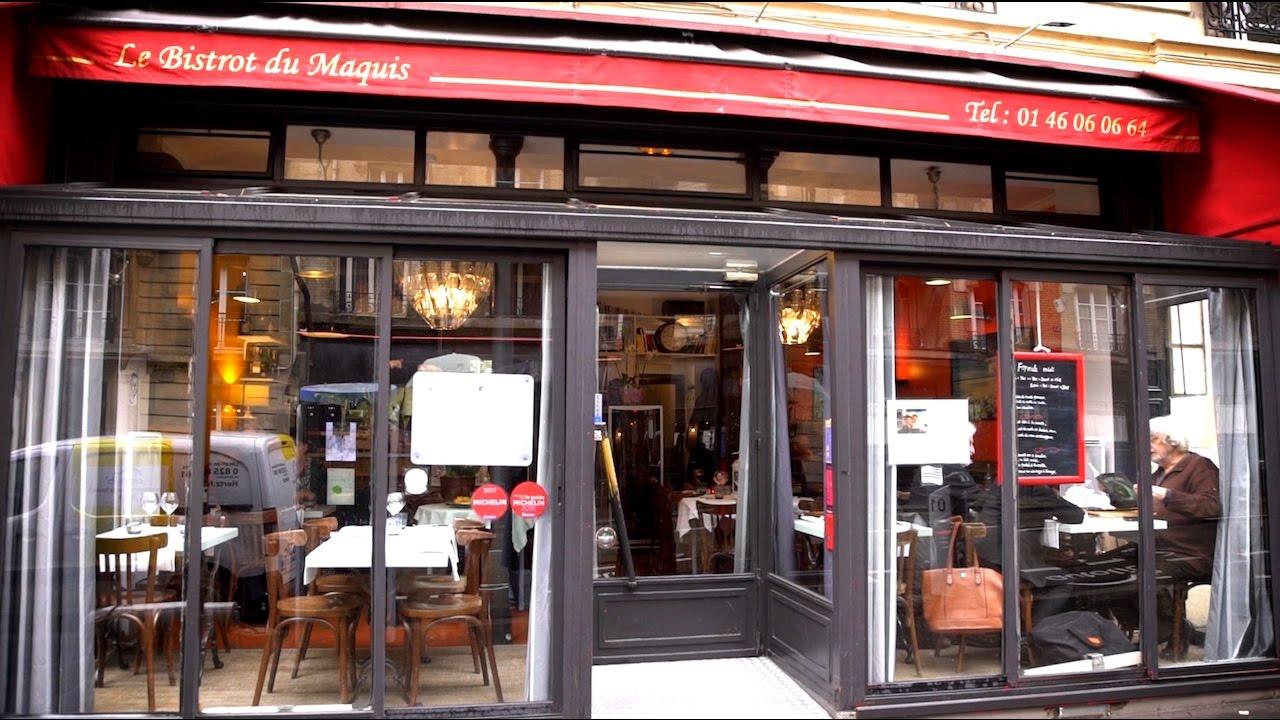 Le bistrot du maquis restaurant paris 18 me youtube for Ideal design paris