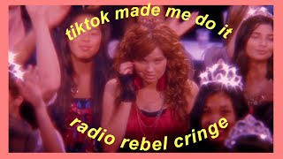 debby ryan being cringey in radio rebel for 6 minutes straight (tiktok made me do it)