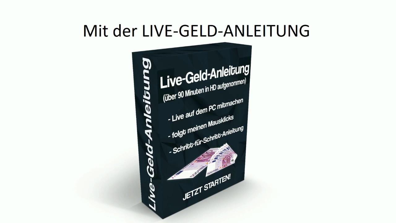 Live Geld Anleitung