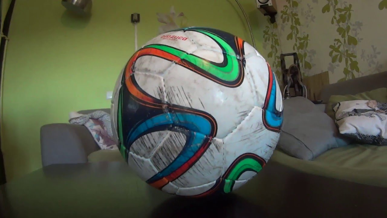 Обзор на мяч адидас бразука - YouTube