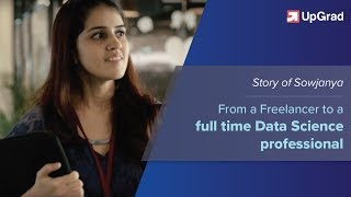 Data Science - Sowjanya's journey towards career of tomorrow!