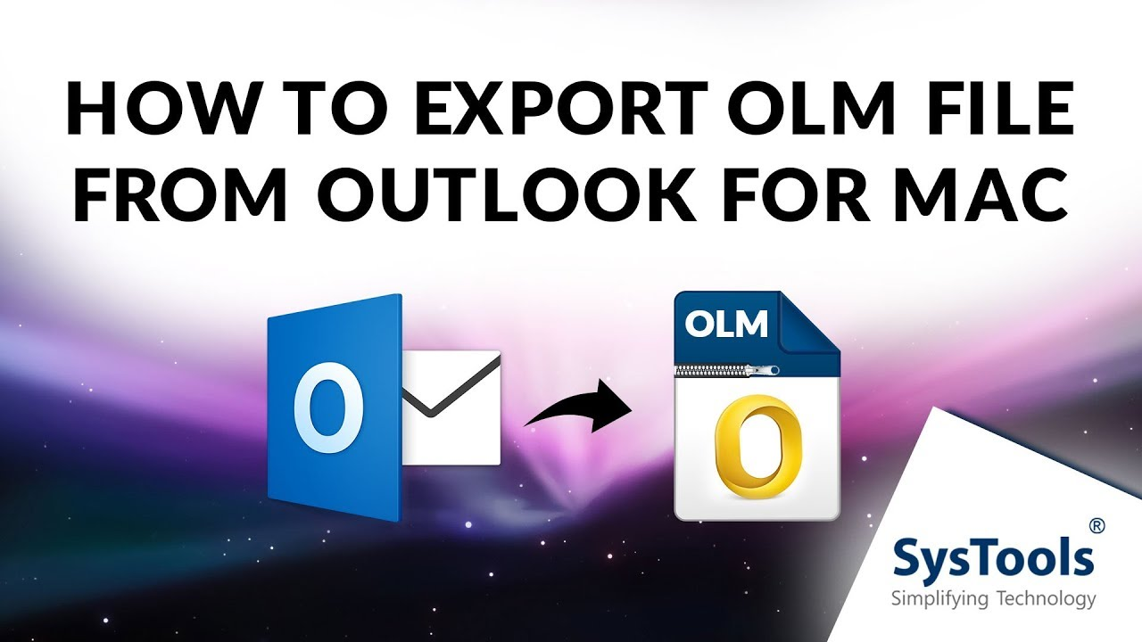 Mac OLM Converter to Export Mac Outlook OLM to Windows Outlook