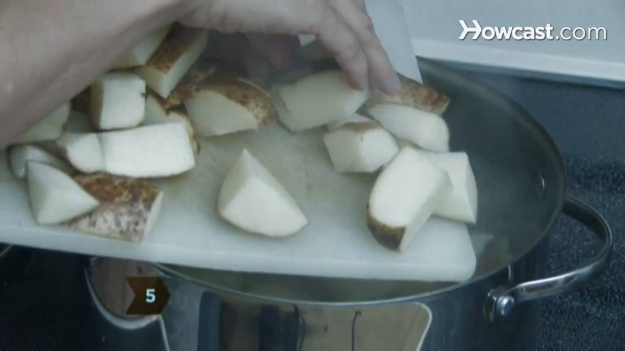 How to Boil Potatoes - YouTube