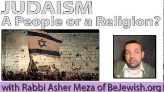 Judaism: a People or a Religion?