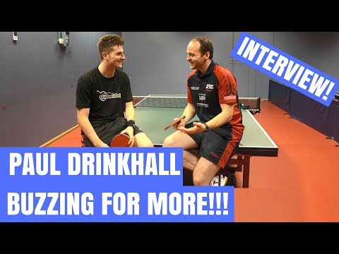 Paul Drinkhall (WR 41) on T2 APAC, Equipment and more!