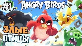 ЗЛЫЕ ПТИЦЫ - ANGRY BIRDS EPIC ПРОХОЖДЕНИЕ - Часть 1