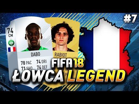 FIFA 18 - Srebrny Ruud Gullit i Dawid Podsiadło - Ligue 1 - Łowca legend #7