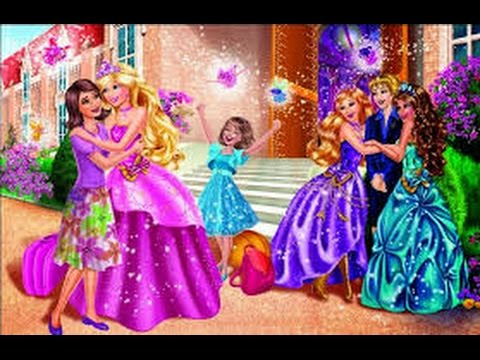 Barbie apprentie princesse barbie francais youtube - Barbie princesse coloriage ...