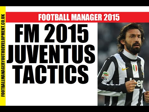 BEST Football Manager 2015 TACTICS Juventus