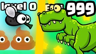 IS THIS THE NEW MOST STRONGEST ANIMAL EVOLUTION UPDATE? (9999+ HIGHEST LEVEL) l Flyordie.io Update