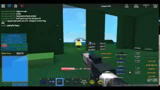 Roblox base Wars BW Shotgun quase lá