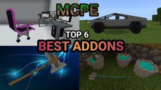 MCPE Top 6 Best Addons 1.12, 1.13, 1.14 (2020) Stormbreaker, Cars, Guns, Dynamic lights and 3D items