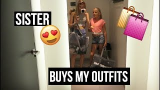sisters buy each other outfits
