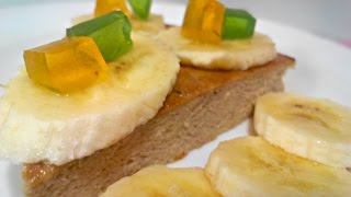 Диетическая низкокалорийная творожная запеканка с бананом без сахара, муки и манки [Вкусная находка]