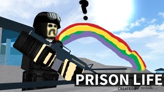 roblox trick | prison life how to gen in the prison fance