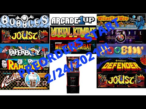 Arcade1up: Midway Legacy Edition In Depth Look! Pre-orders start Feb 24th! A wild John D emerges! from PsykoGamer