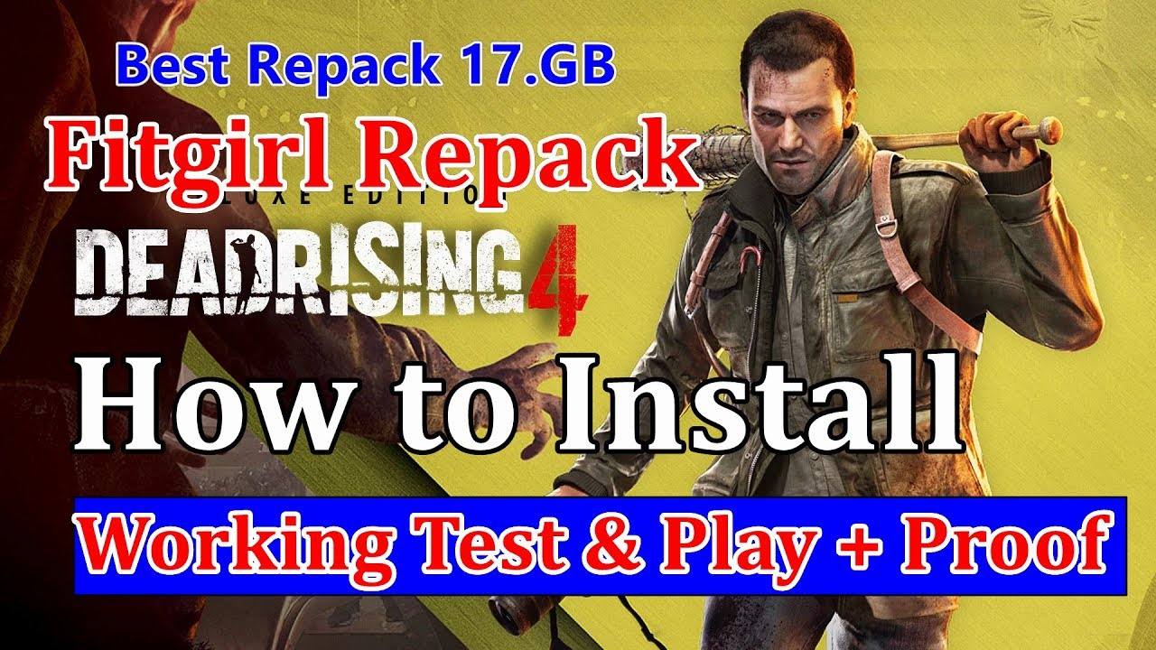 How to Install Dead Rising 4 Fitgirl Repack - Multiplayer Fix Working 100%