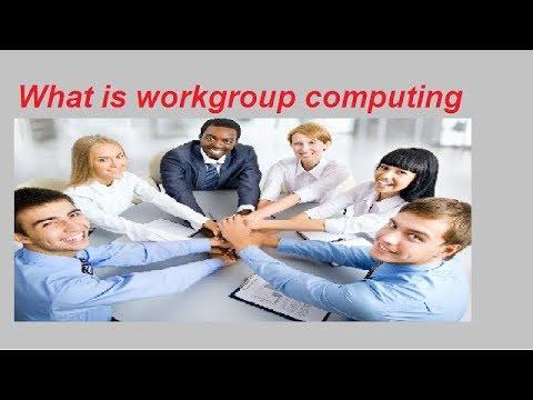 what is  work group computing in Urdu