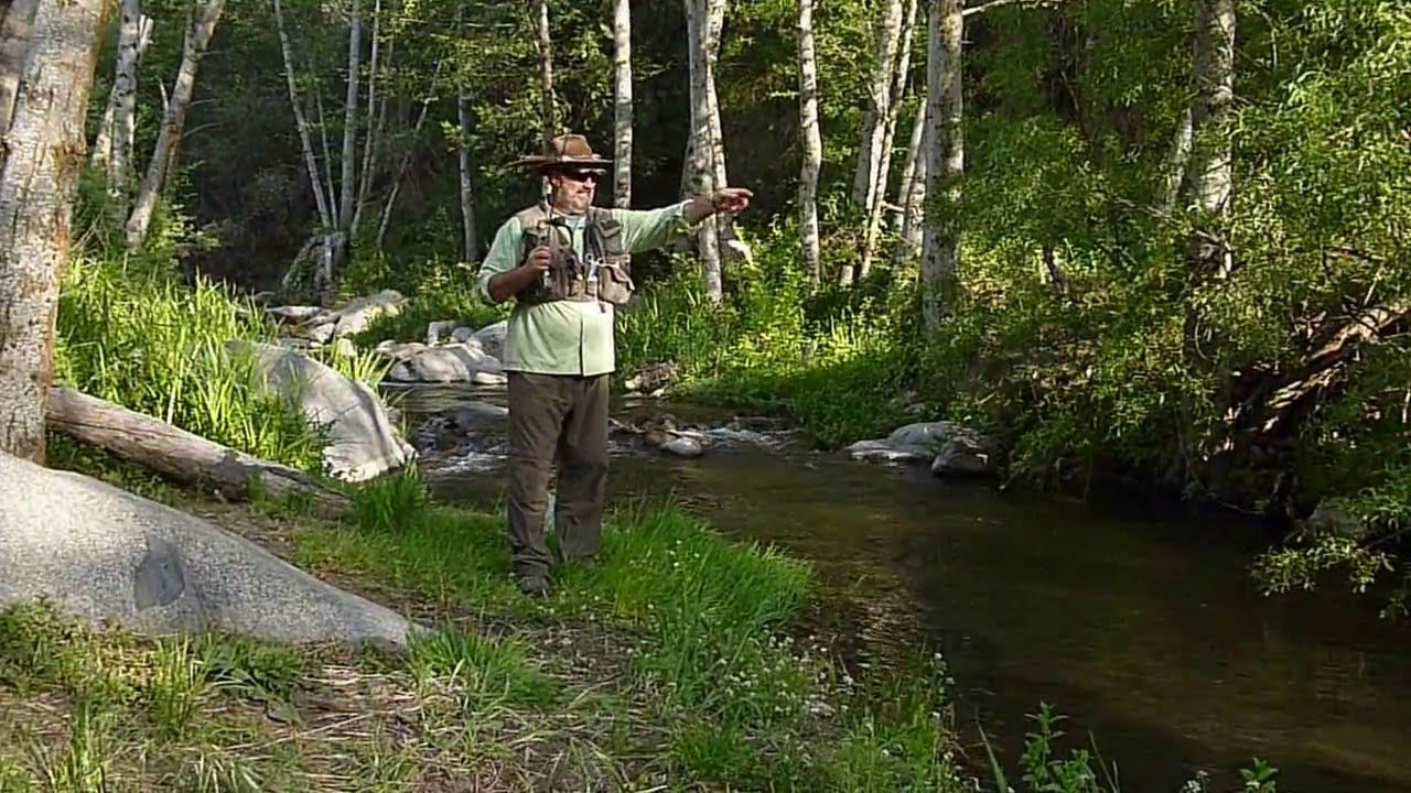 Fly fishing for rainbow trout on the santa ana river ca for Santa ana river lakes fishing