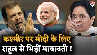 कश्मीर पर मायावती ने राहुल समेत 11 नेताओं को खूब लताड़ा