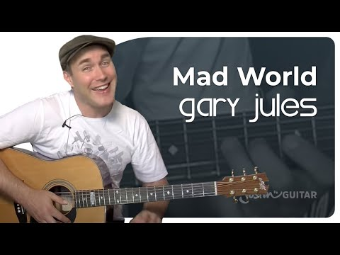 Mad World - Gary Jules (Easy Beginner Song...