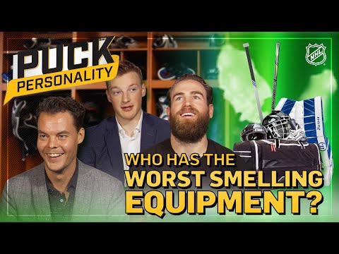 Which Teammate Has The Smelliest Equipment? | Puck Personality | NHL